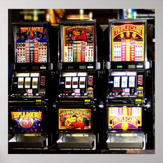 Las Vegas Slots Dream Machines Print