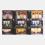 Las Vegas Slots - Dream Machines Rectangular Sticker