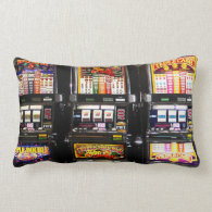 Las Vegas Slots - Dream Machines Throw Pillow