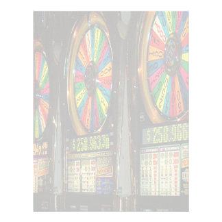 Las Vegas Slots Letterhead