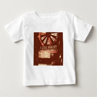 Las Vegas Slots Pop Art Baby T-Shirt