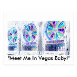 Las Vegas Slots Postcard