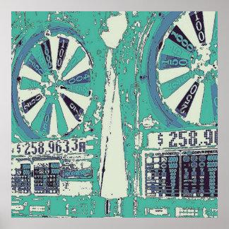 Las Vegas Slots Poster