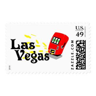 Las Vegas Slots Stamp