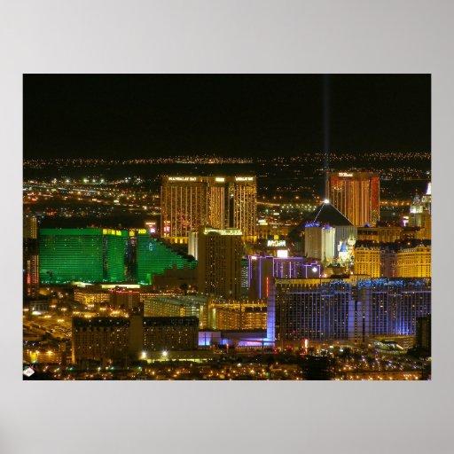Las Vegas South Strip 2006 Poster