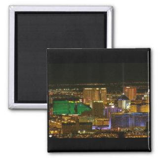 Las Vegas South Strip Aerial View Magnet