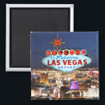 """Las Vegas Souvenir Magnet<br><div class=""""desc"""">A special gift from Las Vegas,  Nevada,  USA. Licensed to Zazzle with permission by BrandName USA,  LLC.</div>"""