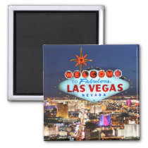 Las Vegas Souvenir Magnet