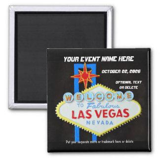 Las Vegas Special Event Memento Magnet