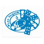 Las Vegas Stamp Postcard