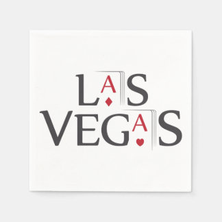 Las Vegas Standard Cocktail Napkin