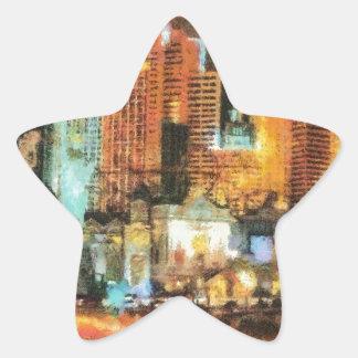 Las vegas star sticker