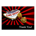 Las Vegas Starburst le agradece oro negro rojo Felicitaciones
