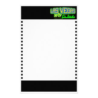 Las Vegas stationary, customizable Stationery