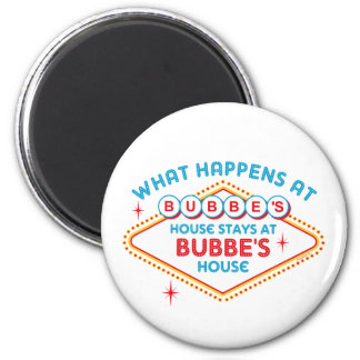 Las Vegas Stays At Bubbe's Magnet