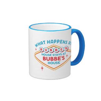 Las Vegas Stays At Bubbe's Ringer Coffee Mug