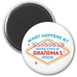 Las Vegas Stays At Grandma s Refrigerator Magnets