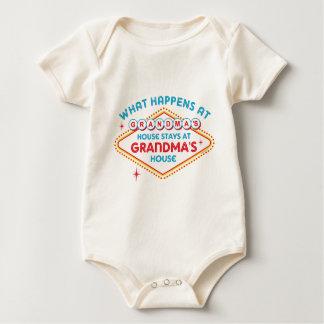 Las Vegas Stays At Grandma's Baby Bodysuit