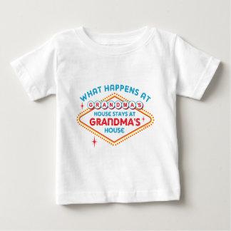Las Vegas Stays At Grandma's Baby T-Shirt
