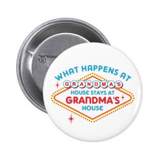Las Vegas Stays At Grandma's Buttons