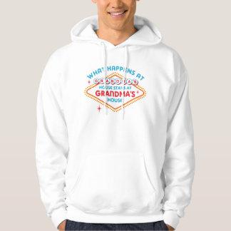 Las Vegas Stays At Grandma's Hooded Sweatshirts
