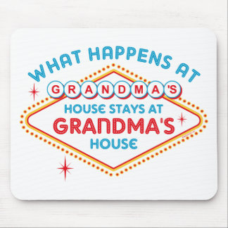 Las Vegas Stays At Grandma's Mouse Pads