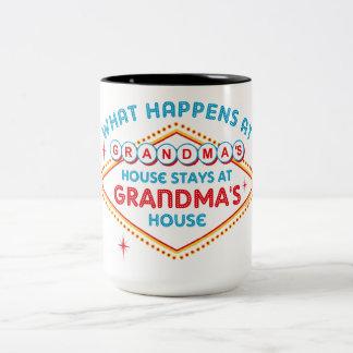 Las Vegas Stays At Grandma's Coffee Mug