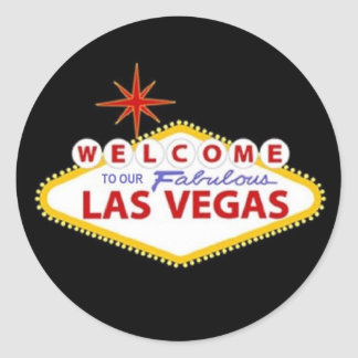 Las Vegas Sticker - Personalize your own!