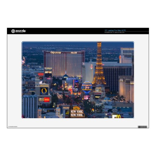 "Las Vegas Strip 15"" Laptop Decal"