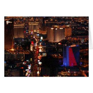 Las Vegas Strip 2006  Card