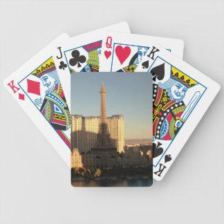 Las Vegas strip 3 Bicycle Playing Cards