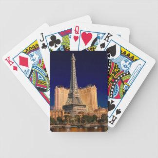 Las Vegas strip 5 Bicycle Playing Cards