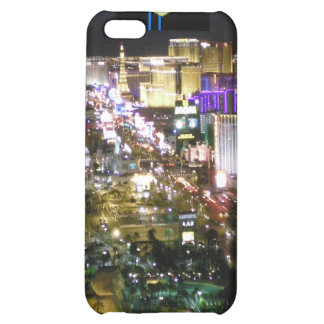 Las Vegas Strip Aerial Photo with Welcome Sign iPhone 5C Cover