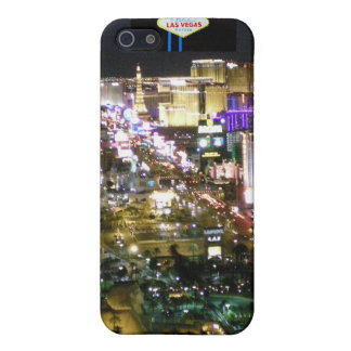 Las Vegas Strip Aerial Photo with Welcome Sign iPhone SE/5/5s Case