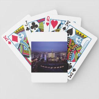 Las Vegas Strip Aerial View Casino Gambling City Bicycle Playing Cards