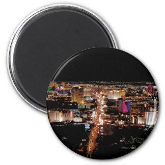 Las Vegas Strip Aerial View Magnet