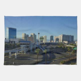 Las Vegas Strip Ahead Hand Towel