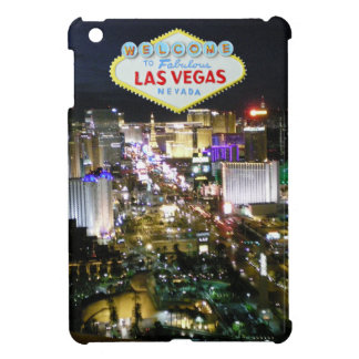 Las Vegas Strip and Welcome Sign iPad Mini Cover
