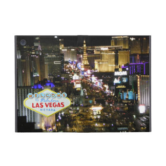 Las Vegas Strip and Welcome Sign iPad Mini Covers