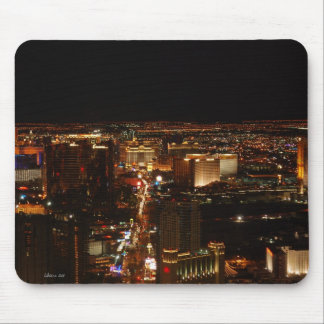 Las Vegas Strip at night Mouse Pad