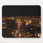 Las Vegas Strip at night Mouse Pads