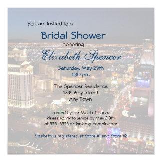 Las Vegas Strip Bridal Shower Invitation