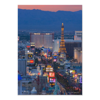 Las Vegas Strip Card