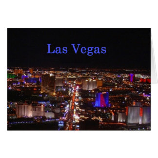 Las Vegas Strip Card