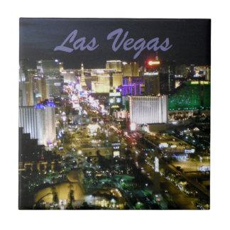 Las Vegas Strip Casinos at Night Tiles