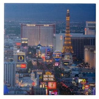 Las Vegas Strip Ceramic Tile