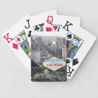 Las Vegas Strip Day Photo Bicycle Playing Cards
