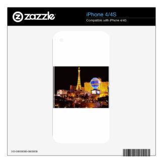 Las Vegas Strip Decals For iPhone 4