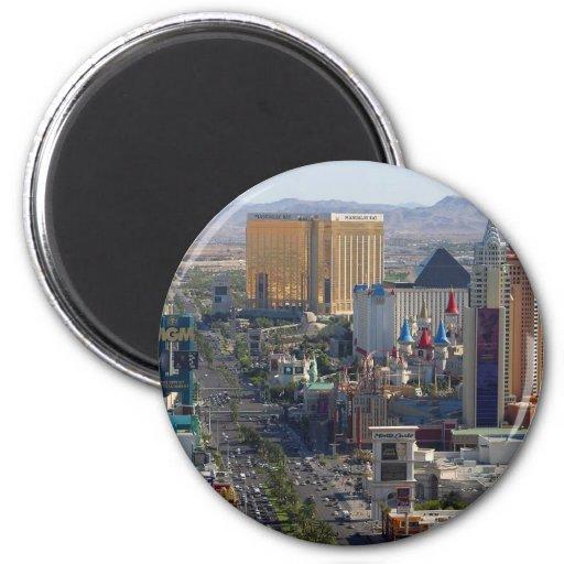 Las Vegas Strip Fridge Magnet