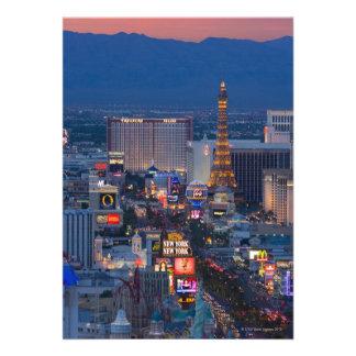 Las Vegas Strip Personalized Announcements